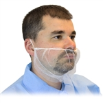 White Polyester Mesh Beard Net