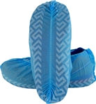 X-Large Blue Disposable Shoe Covers