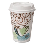 Dixie 12 Oz Paper Hot Cups With Lids