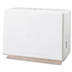 Georgia Pacific White Singlefold Towel Dispenser