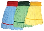 CPI Medium Green Microfiber Tube Mop