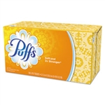 Puffs White Facial Tissue