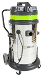 IPC Eagle #S6415DS Steel Wet Dry Vac With Auto Discharge