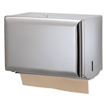 Chrome Singlefold Towel Dispenser