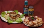 Jumbo P&D Shrimp / Crab Cakes