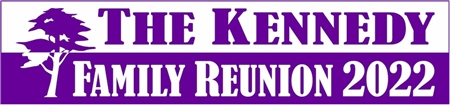 Family Reunion Banner Year