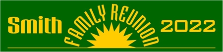 Family Reunion Banner 1