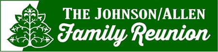 Tree of Life Family Reunion Banner