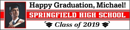 Happy Graduation Photo Banner GRGN102