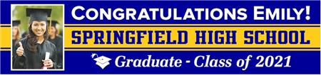 High School Graduation Photo Banner GRHS102