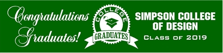College Graduation Banner from School 1