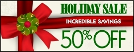 Holiday Sale Banner for Merchants