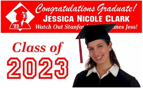 high school graduation banners