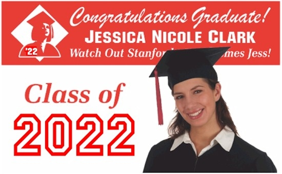 custom graduation party banners personalized graduation banners