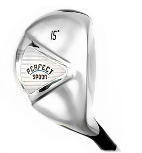 Mens - Perfect Club Golf Collection -  The Perfect Spoon 134, Mens Right Hand Graphite Shaft, Includes headcover.