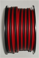 16awg RED & BLACK ZIP CORD 50 Ft., spooled