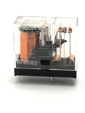Omron 12Vdc SPST Relay, 16A, Normally Open