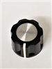 Round Knob 1/4 Shaft with Indicator