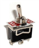 "SPDT ON/(ON) 1/2"" Mount Toggle Switch"