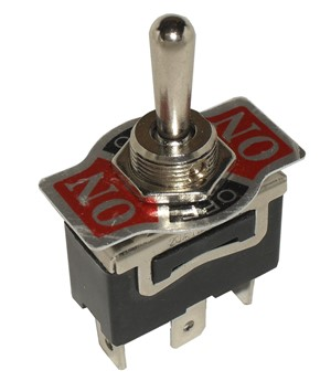 "SPDT (ON)/OFF/(ON) 1/2"" Mount Toggle switch momentary both ways"