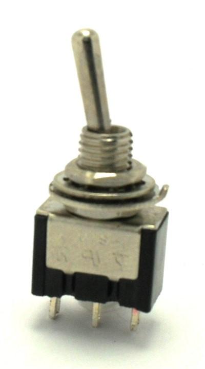 SPDT ON/Momentary On Miniature Toggle Switch