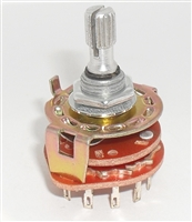 4P3P L.D. Four Pole Three Position Rotary Wafer Switch