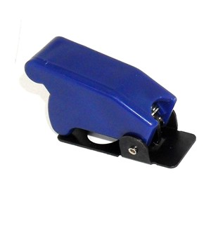 Blue Toggle Switch Safety Cover