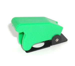 Green Toggle Switch Safety Cover