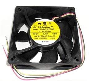 "120mm(4.72"") x 38.2mm(1.5"") 12Vdc Computer Muffin Fan"