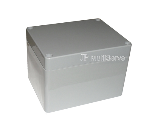 "ABS Enclosure with Gasket Seal 4.5"" x 3.5"" x 3.1"" Dark Gray"