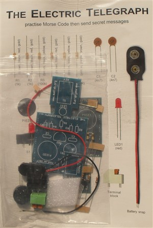 Electric Telegraph cw Electronic Soldering Kit MadLab MLP109