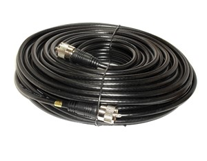 50ft UHF to UHF RG8X Coax PL259 Patch Cable