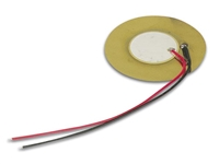 Piezo Transducer 30Vac 0.5-20Hz 75dB with leads