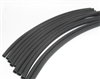 "Heat Shrink Tubing, 3/16"" x 6"", Black, 10PK"