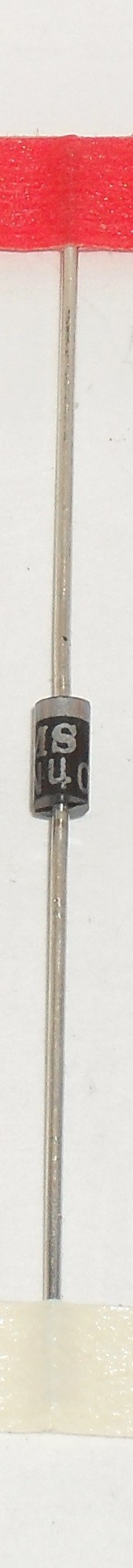 1N4001 Diode, Standard Recovery Rectifier, DO-41 Package