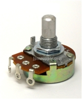 1M Ohm Potentiometer Audio Taper A1M Smooth Shaft