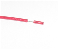 "4"" Jumper Wire RED 26awg Stranded"