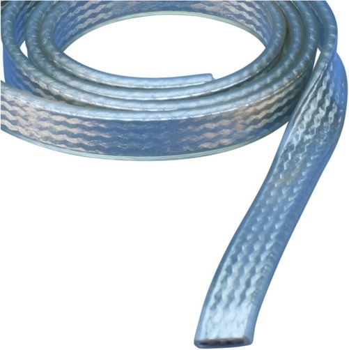 Erico 503610 FTCBI Insulated Flat Braid in Coil, Tinned Copper