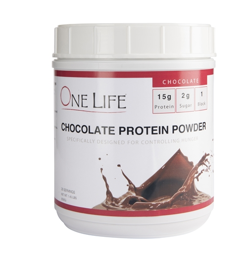 One Life Chocolate Protein Powder - 1 pound