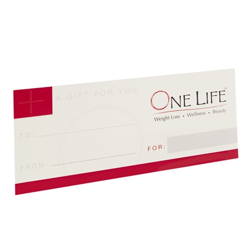 One Life Gift Certificate