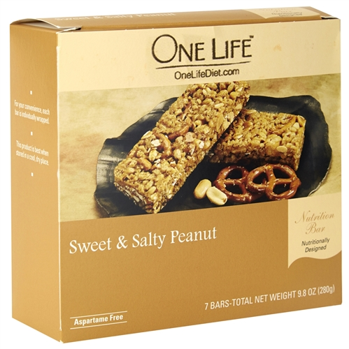 Sweet & Salty Peanut Protein Bars