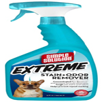 Simple Solution Extreme Pet Stain & Odor Remover/Pro-Bacteria & Enzyme Formula, 32 oz