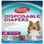 Bramton Simple Solution Disposable Diapers Medium 12pk