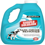 Simple Solution Pet Stain & Odor Remover/Pro-Bacteria and Enzyme Formula 1 Gal