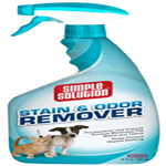 Simple Solution Pet Stain & Odor Remover/Pro-Bacteria and Enzyme Formula, 32 oz