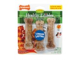 Nylabone Healthy Edibles Longer Lasting Bacon Regular 3pk
