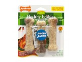 Nylabone Healthy Edibles Longer Lasting Chicken Regular 3pk