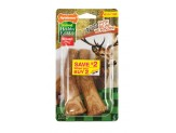 Nylabone Healthy Edibles Edible Antler Real Venison Medium 2pk