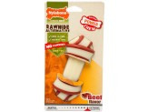 Nylabone Dura Chew Rawhide Alternative Knot Bone Beef Wolf