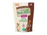 Nutrident Filet Mignon Dental Chew Treat Medium Pouch 7ct